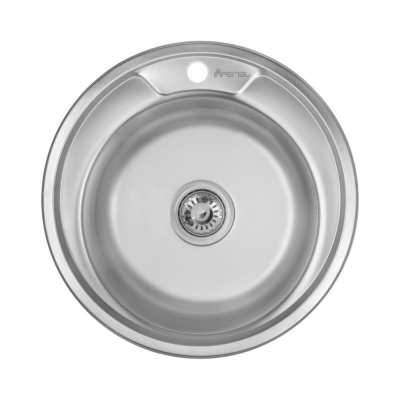 Кухонная мойка Imperial 490-A Decor (IMP490A06DEC160)