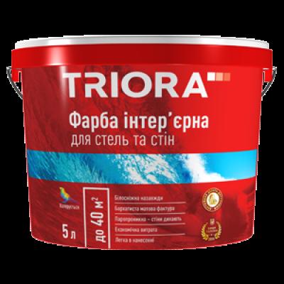 Краска интерьерная для стен и потолков TRIORA