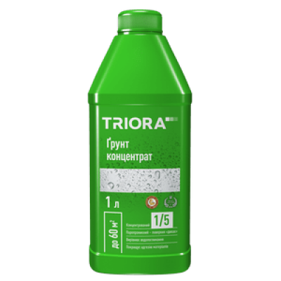 Грунт-концентрат 1/5 TRIORA для стен и потолков