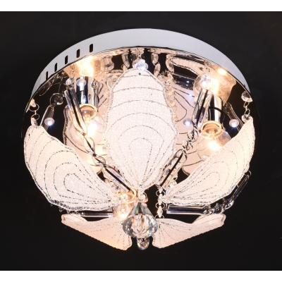 Люстра с LED подсветкой 81786/4 Ø400 CR с пультом управления