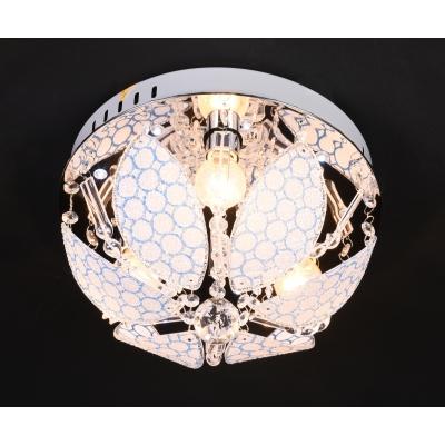 Люстра с LED подсветкой 81788/3 Ø300 CR c пультом управления