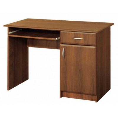 Стол компьютерный с 1-ой тумбой Мебель Сервис МДФ