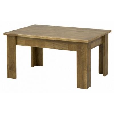 Деревянный журнальный стол Мебель Сервис Жанет дуб темный
