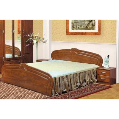 Полуторная кровать Мебель Сервис Антонина МДФ