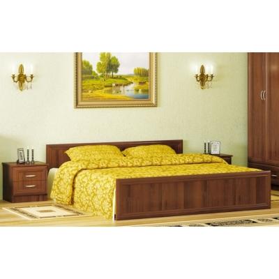 Двуспальная кровать Мебель Сервис Соната ДСП