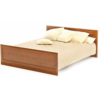 Двуспальная кровать Мебель Сервис Даллас ДСП каштан