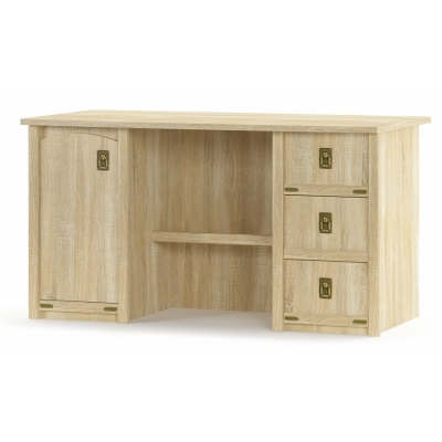 Письменный стол 1д3ш Мебель Сервис Валенсия ДСП