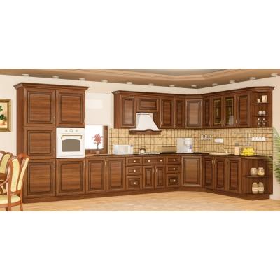 Кухня Мебель Сервис Франческа МДФ вишня портофино 2.6 м.п.