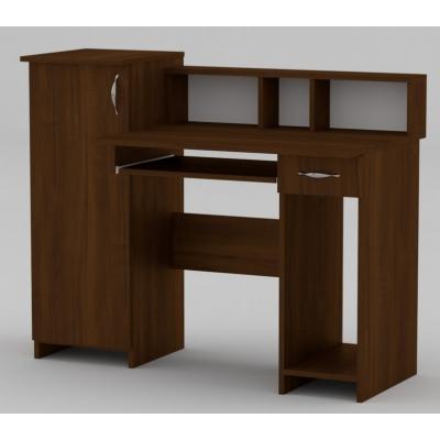 Стол компьютерный Компанит ПИ-ПИ-2 АБС орех
