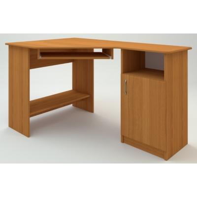 Компьютерный стол Компанит СУ-13 МДФ венге темный/светлый