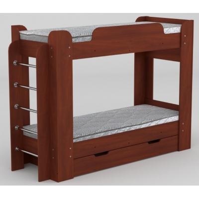 Двухьрусная кровать Компанит Твикс Яблоко