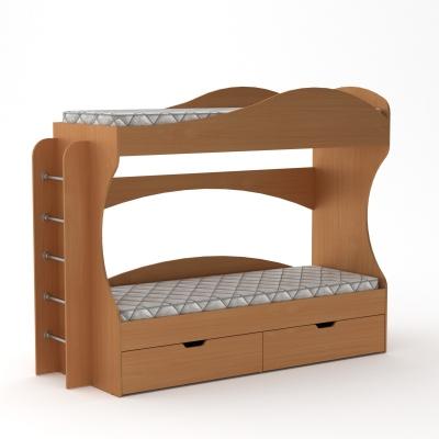 """Двухъярусная детская кровать с ящиками """"Бриз"""""""