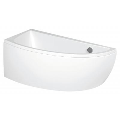 Ванна асиметрична NANO 140Х75 ліва з кріпленням