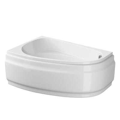 Ванна асиметрична JOANNA NEW 140X90 ліва з кріпленням