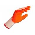 Перчатки робочі з латексним та нітриловим покриттям