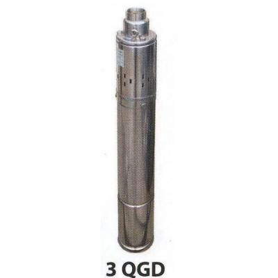 Насос скважинный шнековый  VOLKS pumpe  3QGD 1.5-90-0.55кВт 3 дюйма! + кабель 15м