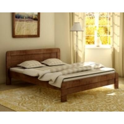 Кровать деревянная масив Тоскана TM Mebigrand венге, 140*200