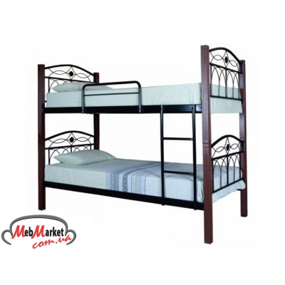 Кровать двухъярусная кованая Элизабет ТМ Melbi