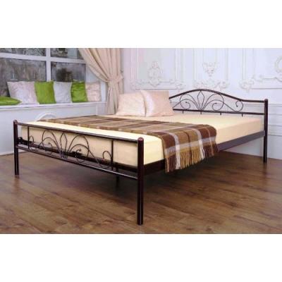 Кровать двухъярусная кованая Лара Люкс Вуд ТМ Melbi