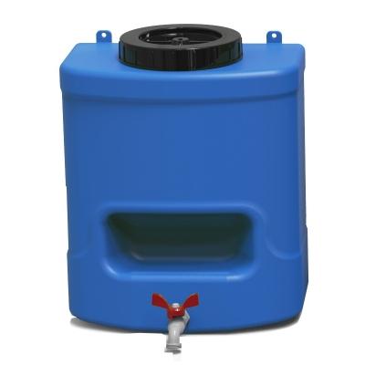 Пластиковый рукомойник Пласт Бак для дачи 15 л синий